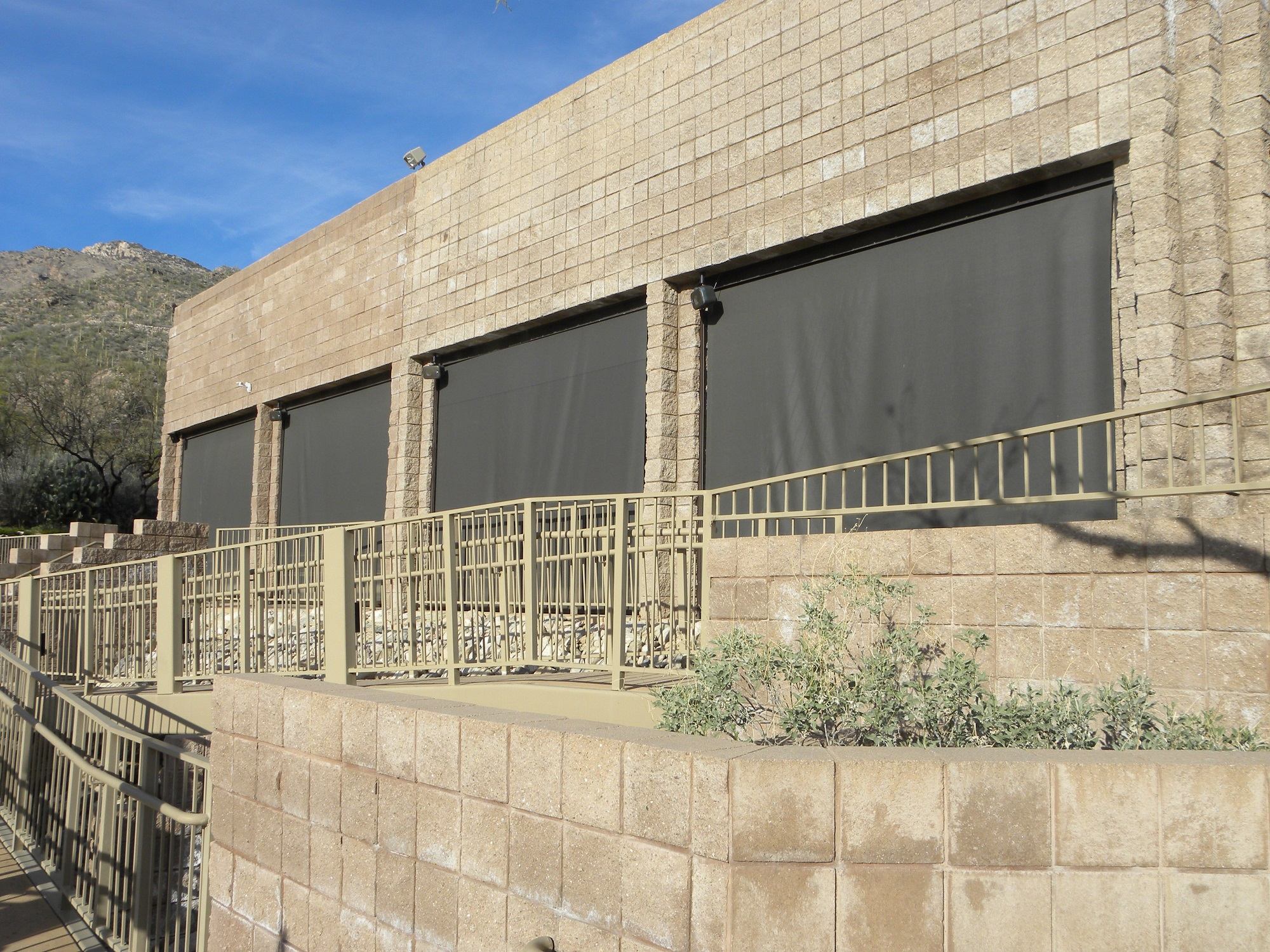 Tucson Commercial Roll Shades