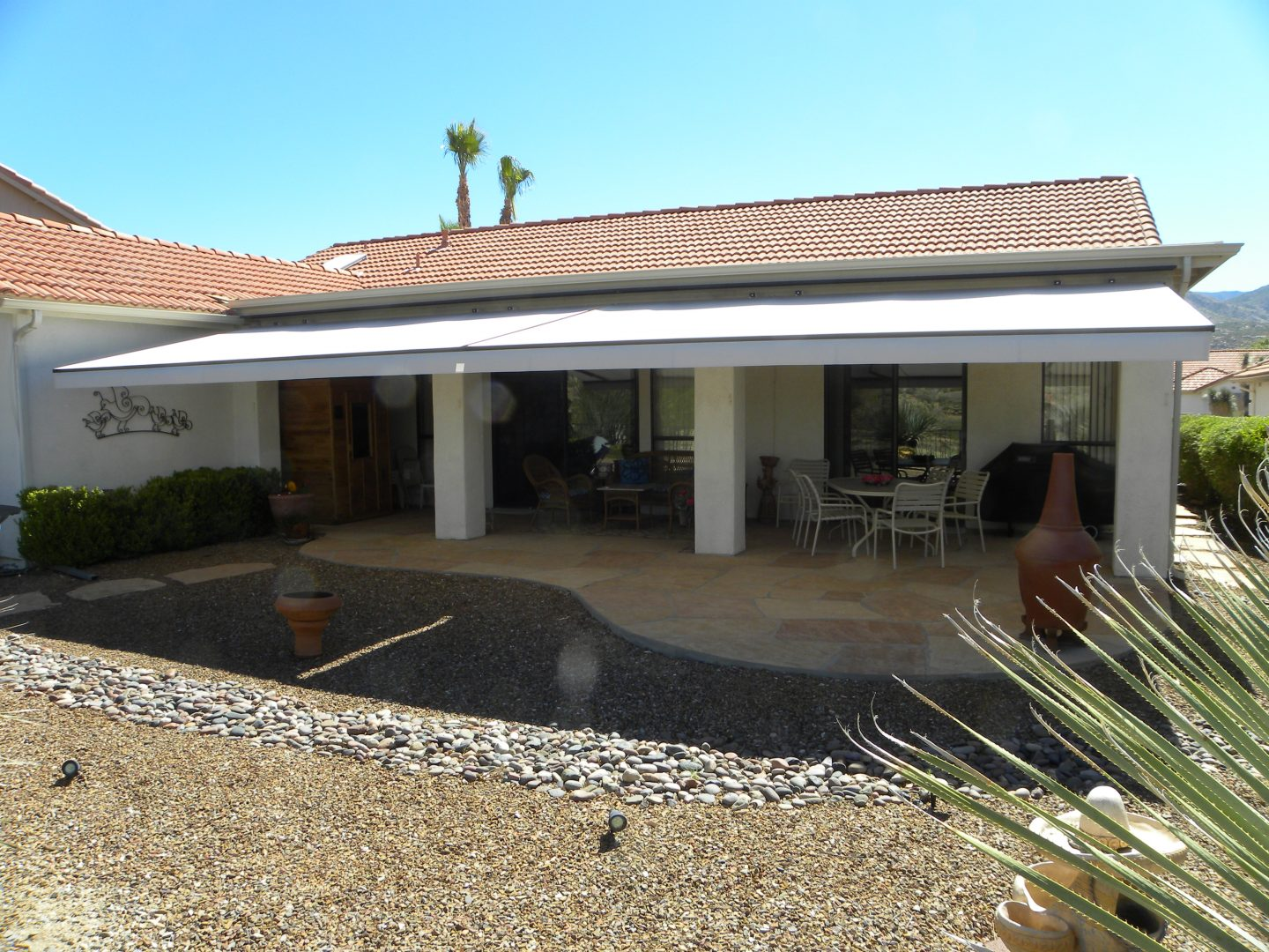 Tucson Residential Retractable Awnings - Air and Sun Shade ...