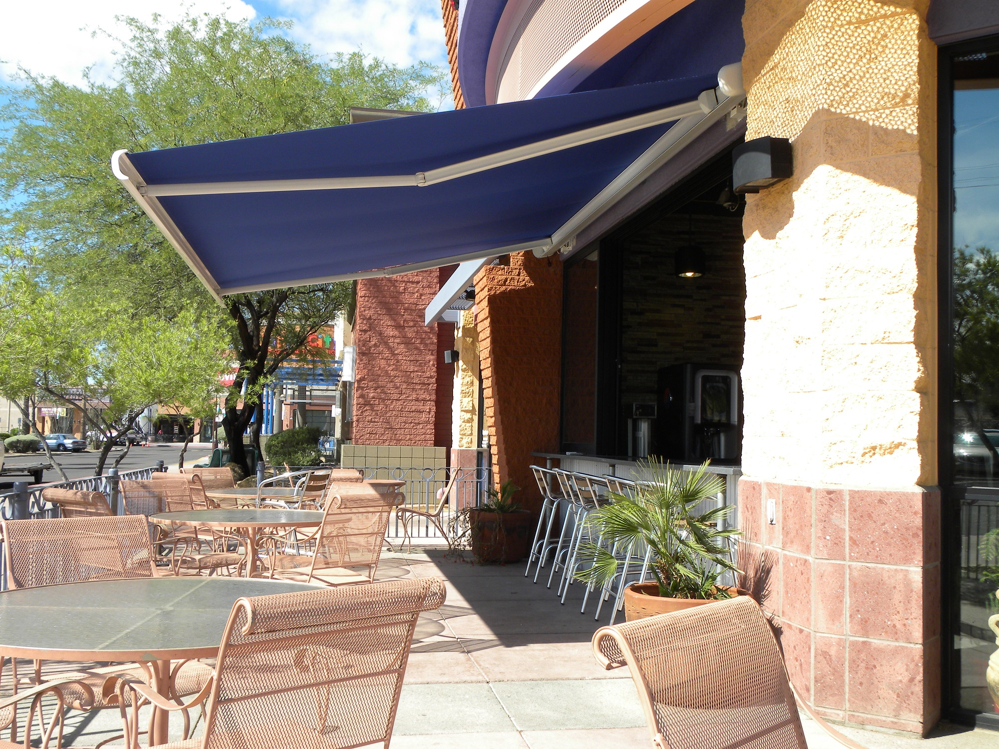 Tucson Commercial Retractable Awning