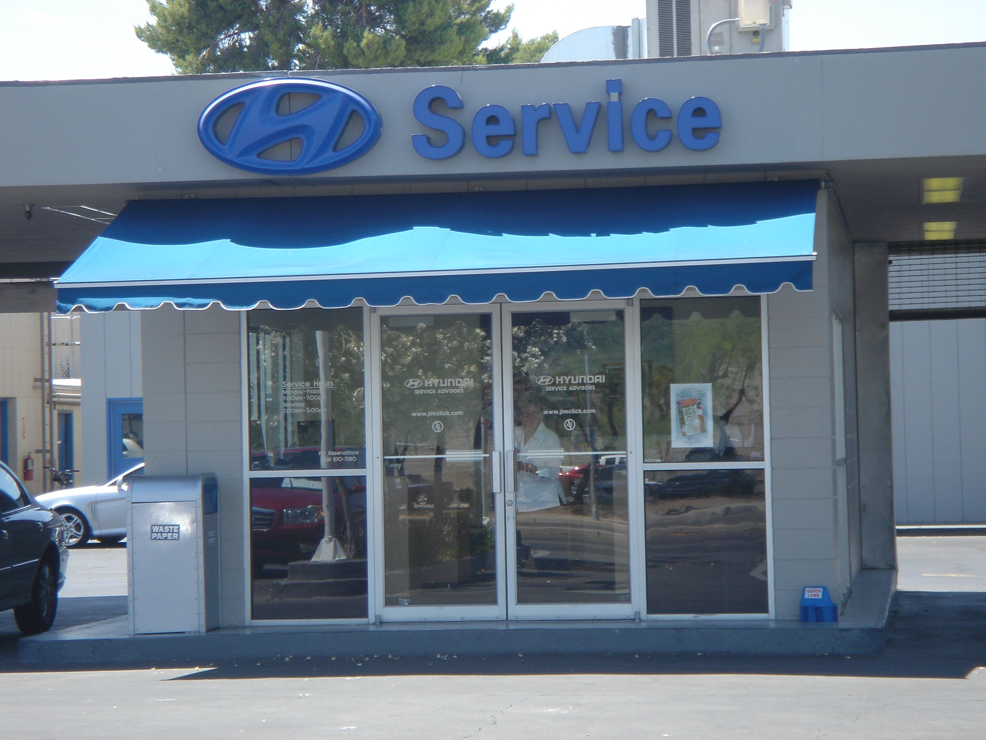 Tucson Commercial Retractable Awnings - Air and Sun Shade ...