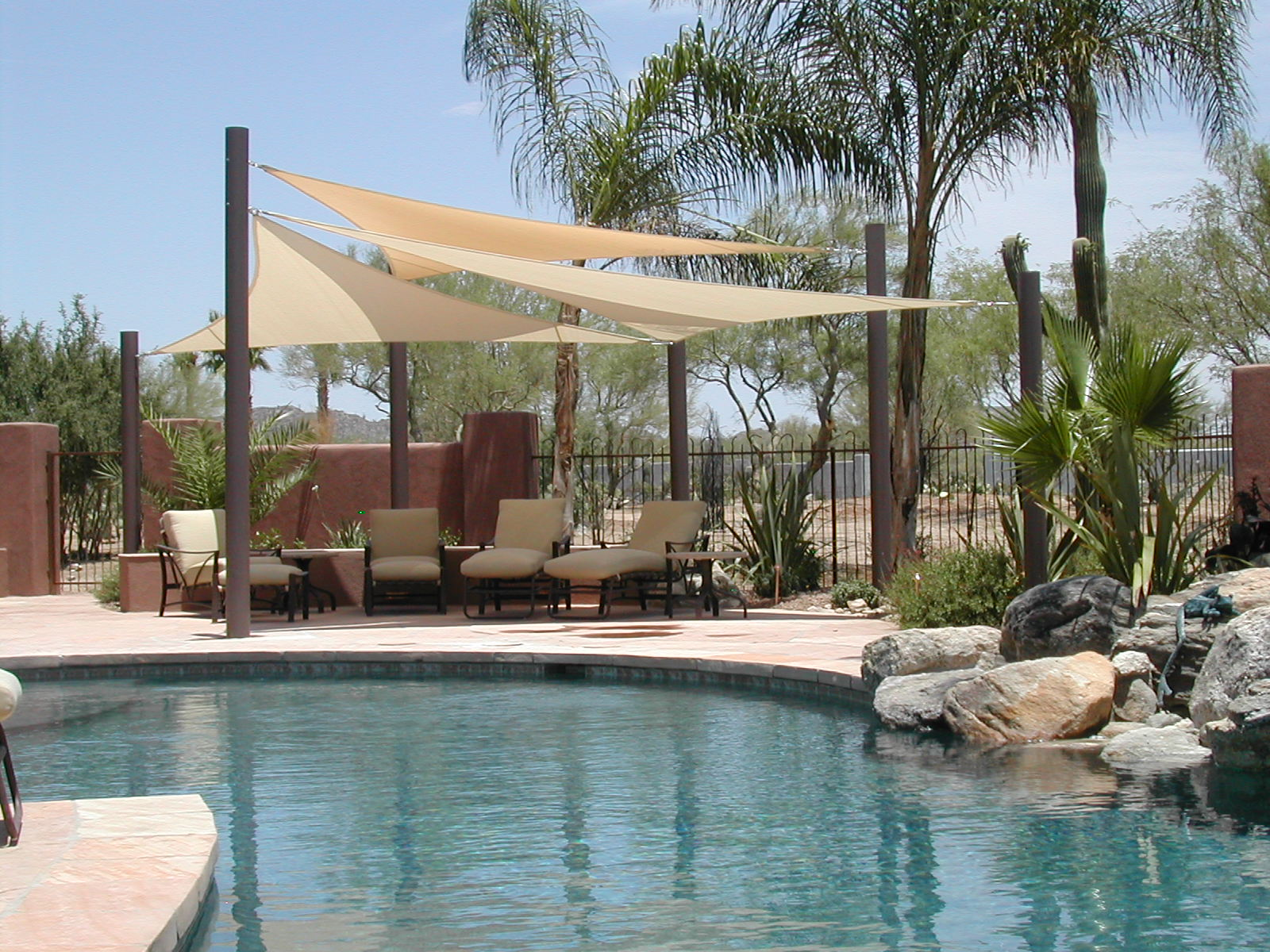 air and sun tucson awning company shade sails retractable awnings