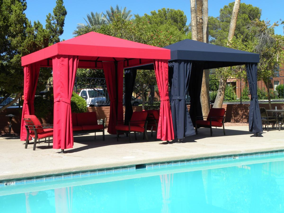 Tucson Commercial Cabanas