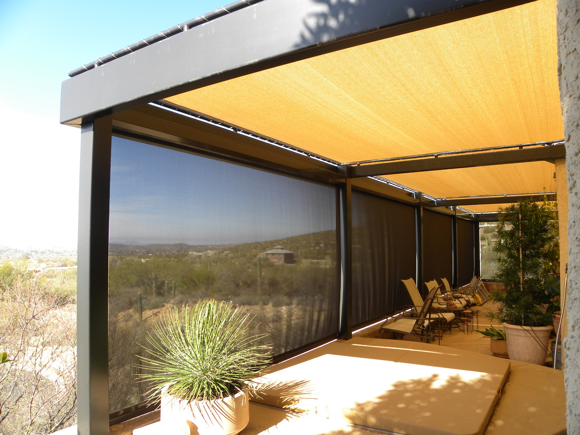 Tucson Residential Custom Shades and Awnings - Air and Sun ...